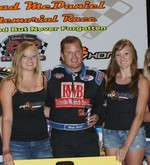 Chad McDaniel Memorial 06/05/2010 Feature Winner Brad Kuhn